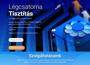 Online marketing kivitelezés. Légtechnikai weboldal készítés.